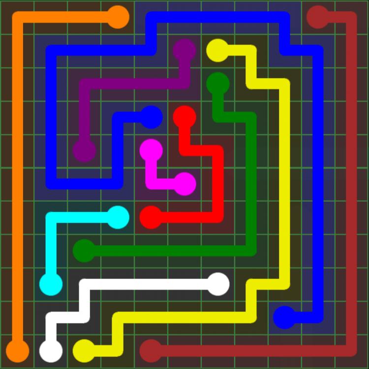 Flow Free – 11×11 Mania – Levels 61-90 – Level 86