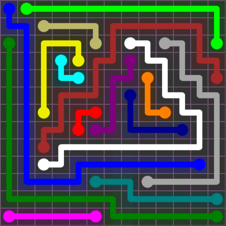 Flow Free – 13×13 Mania – Levels 31-60 – Level 37