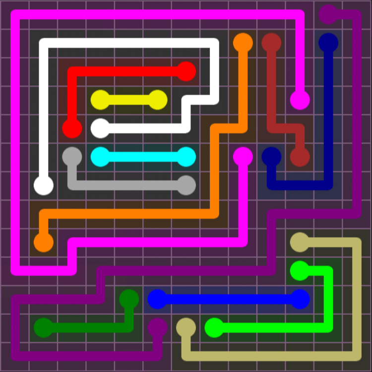 flow free 13x13 mania level 6190 solutions game app