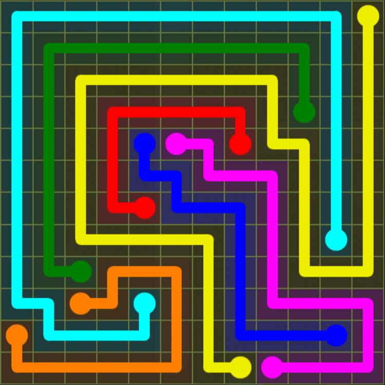 Flow Free – Extreme Pack – 12×12 Hardest – Level 14