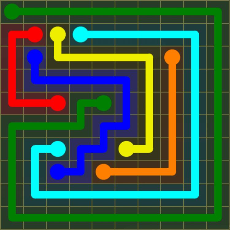 Flow Free – Extreme Pack 2 – 10×10 Harder – Level 13