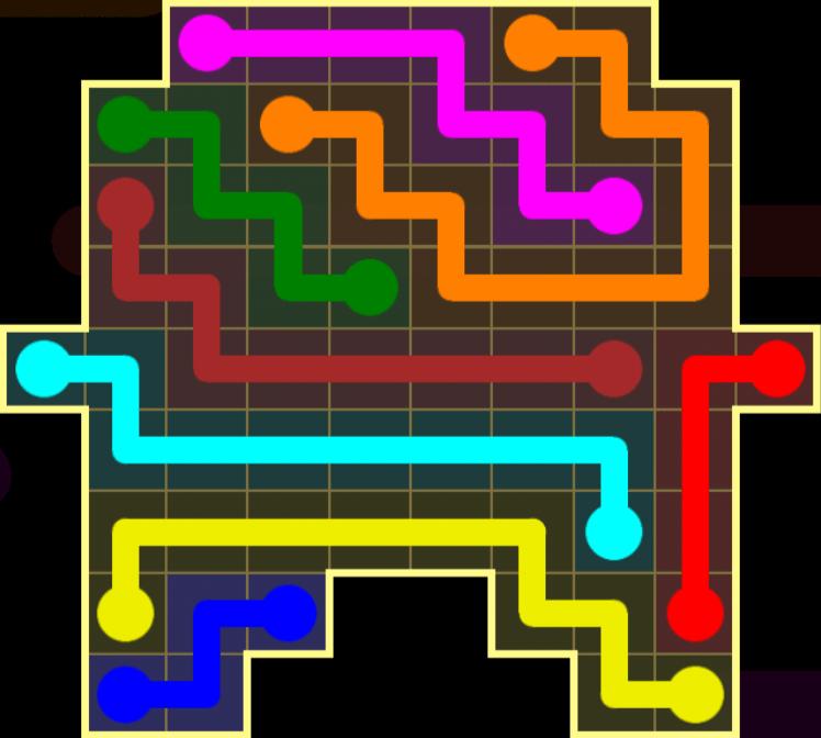 Flow Free – Inkblot Pack – Levels 31-60 – Level 31