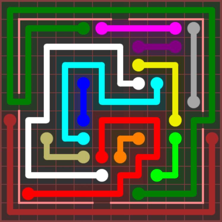 Flow Free – Jumbo Courtyard – 12×12 – Level 36