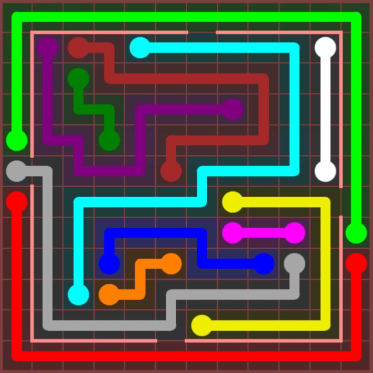 Flow Free – Jumbo Courtyard – 12×12 – Level 53
