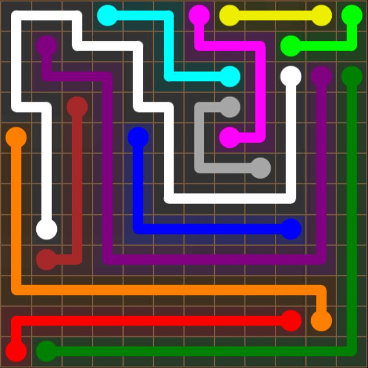 Flow Free – Jumbo Pack – 12×12 Harder – Level 24