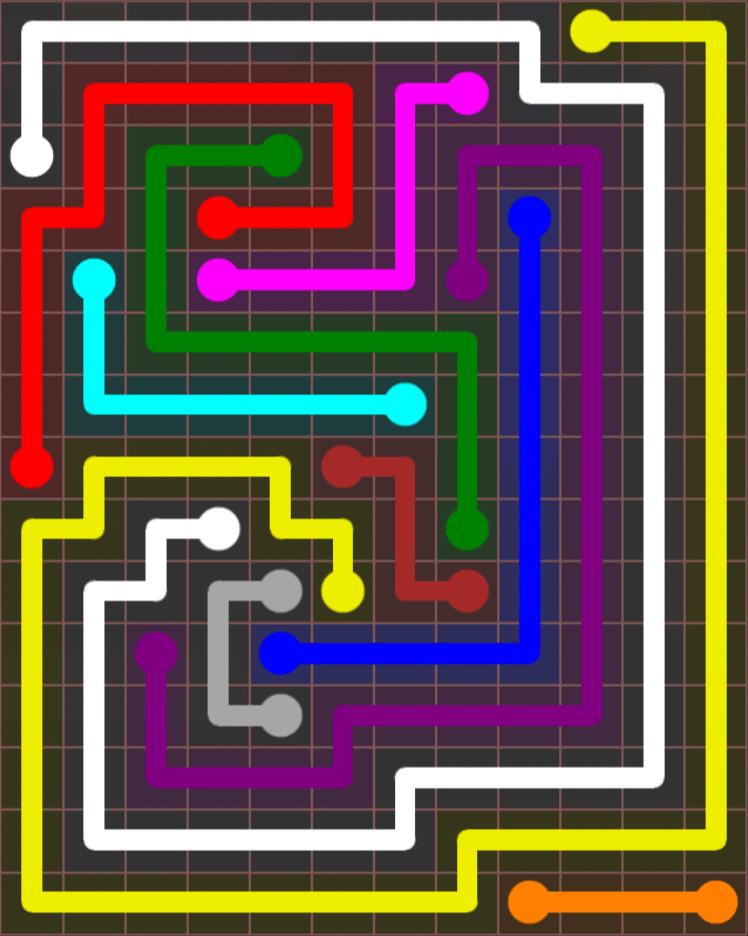 Flow Free – Jumbo Rectangle – 12×15 – Level 59