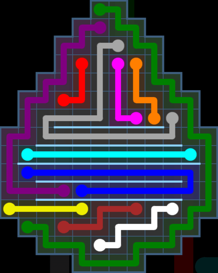 Flow Free – Party Pack – Levels 121-150 – Level 125