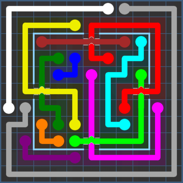 Flow Free – Party Pack – Levels 121-150 – Level 128