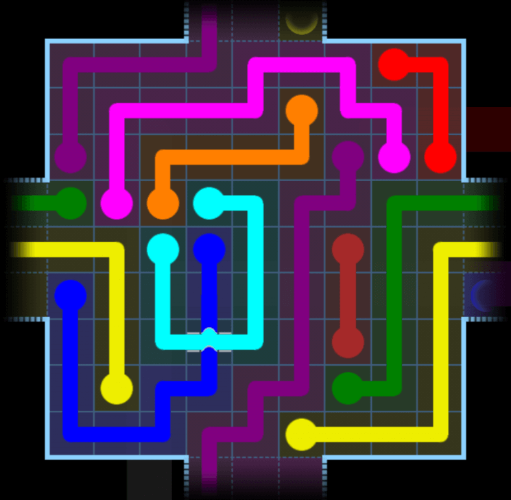 Flow Free – Party Pack – Levels 121-150 – Level 150