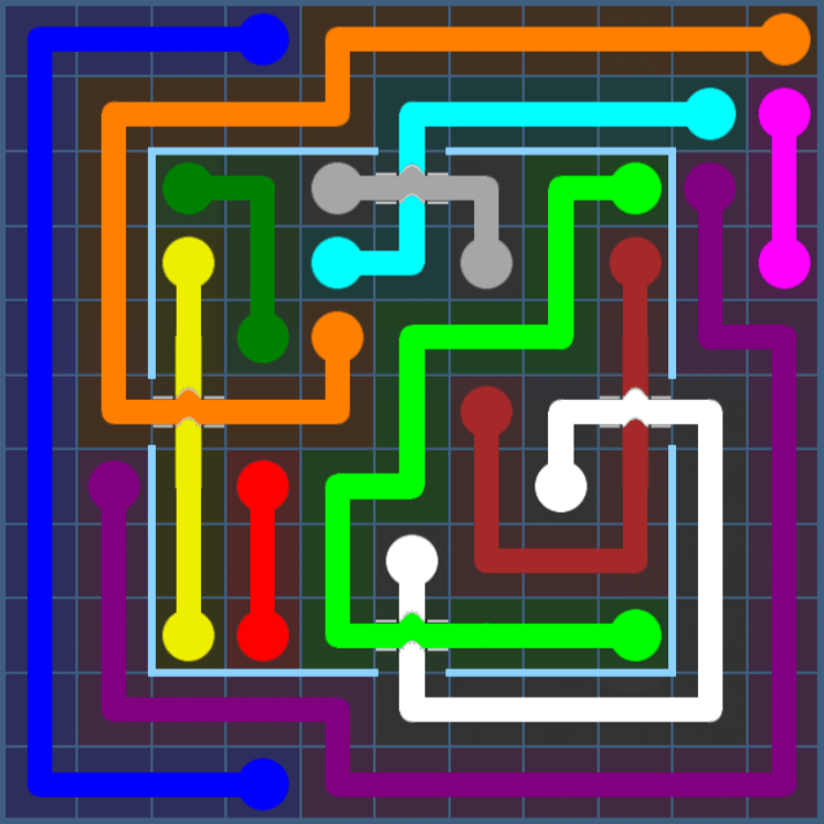 Flow Free – Party Pack – Levels 31-60 – Level 38