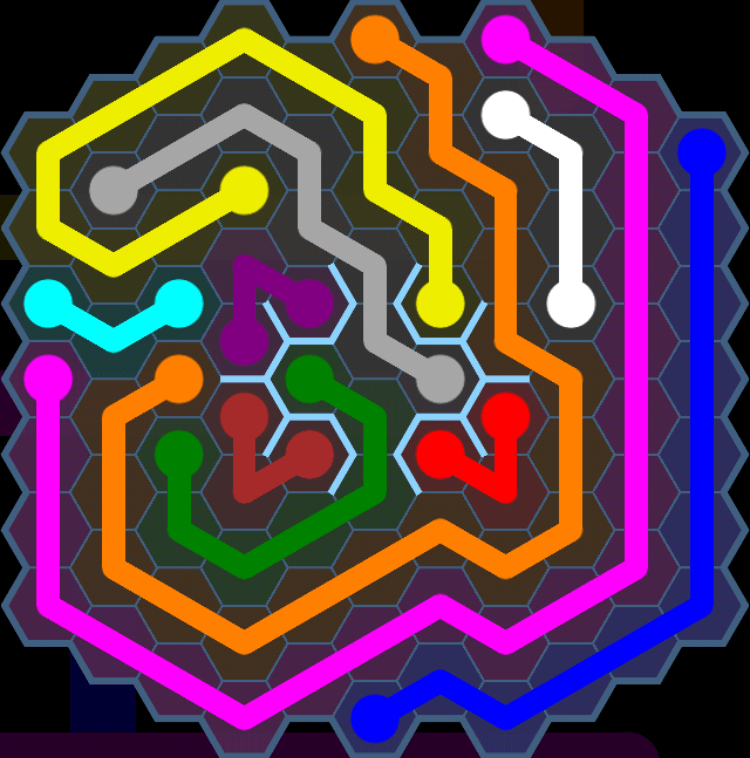 Flow Free – Party Pack – Levels 91-120 – Level 101