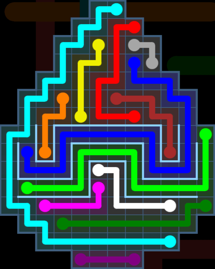 Flow Free – Party Pack – Levels 91-120 – Level 106
