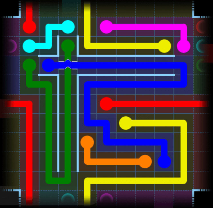 Flow Free – Party Pack – Levels 91-120 – Level 117