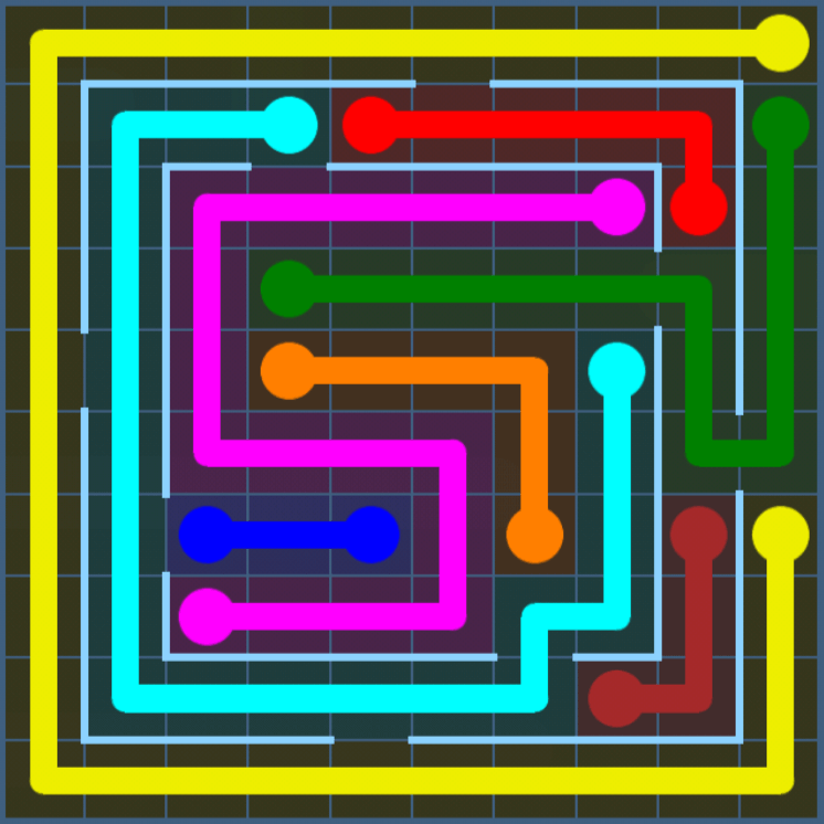 Flow Free – Variety Pack – Levels 121-150 – Level 125