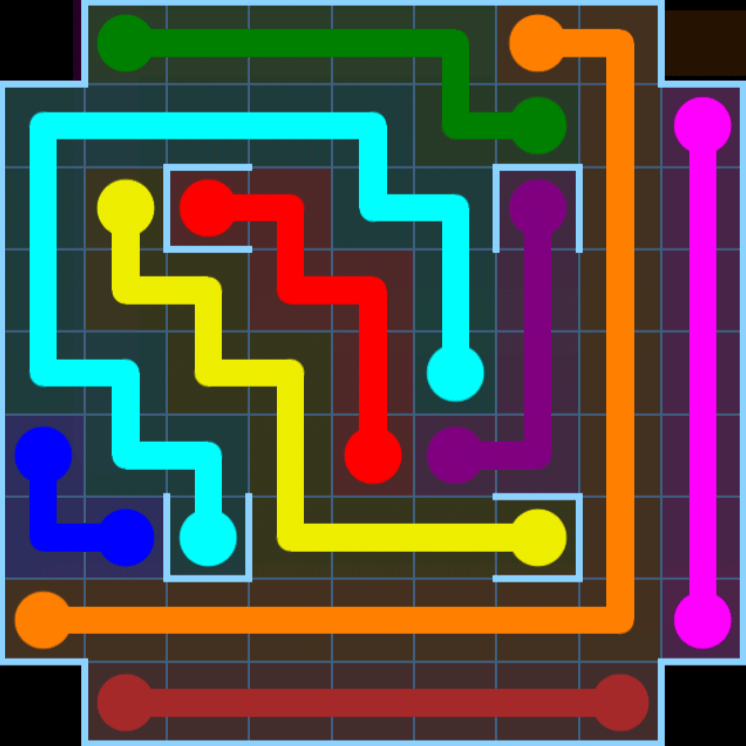 Flow Free – Variety Pack – Levels 31-60 – Level 38