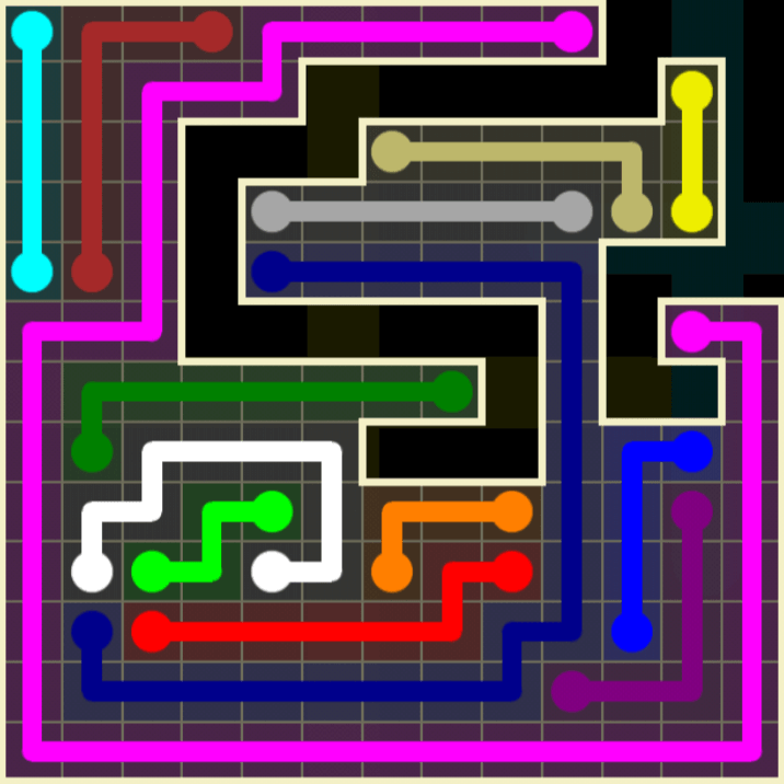 Flow Free – Worm Pack – 13×13 – Level 116