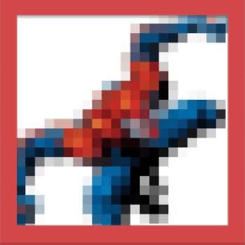 Quiz Pic – Pixel Comics – Level 1 – Puzzle 1