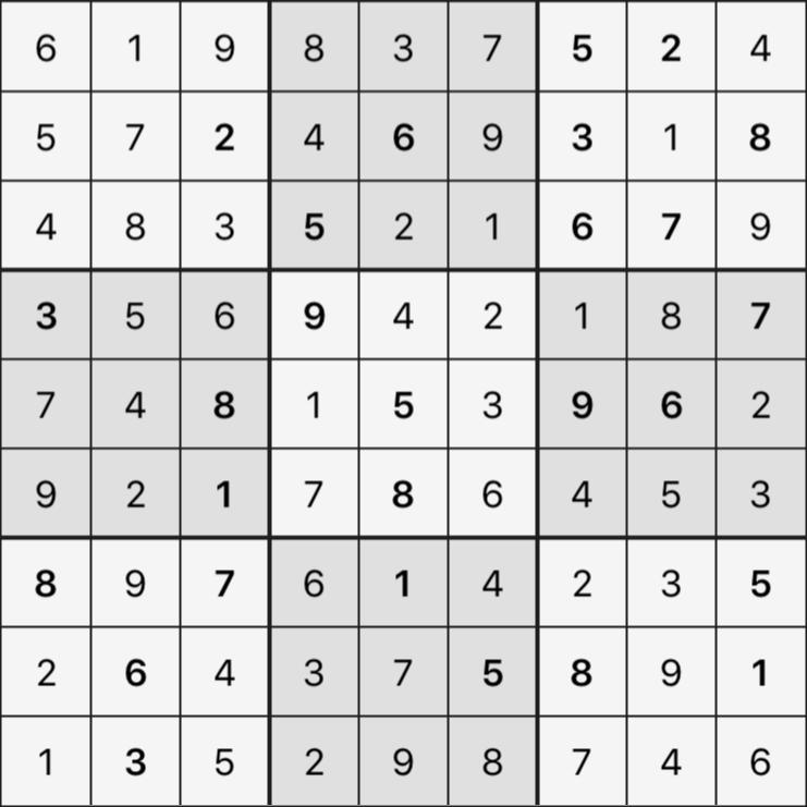 Sudoku's Round – Bonus Round 7 – Puzzle 2
