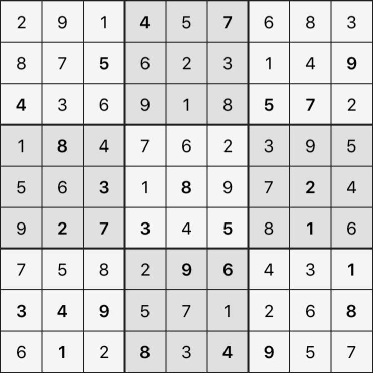 Sudoku's Round – Bonus Round 7 – Puzzle 3
