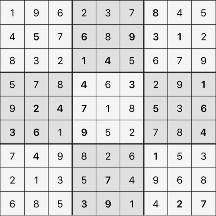Sudoku's Round – Bonus Round 7 – Puzzle 4