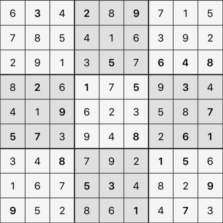 Sudoku's Round – Bonus Round 7 – Puzzle 7