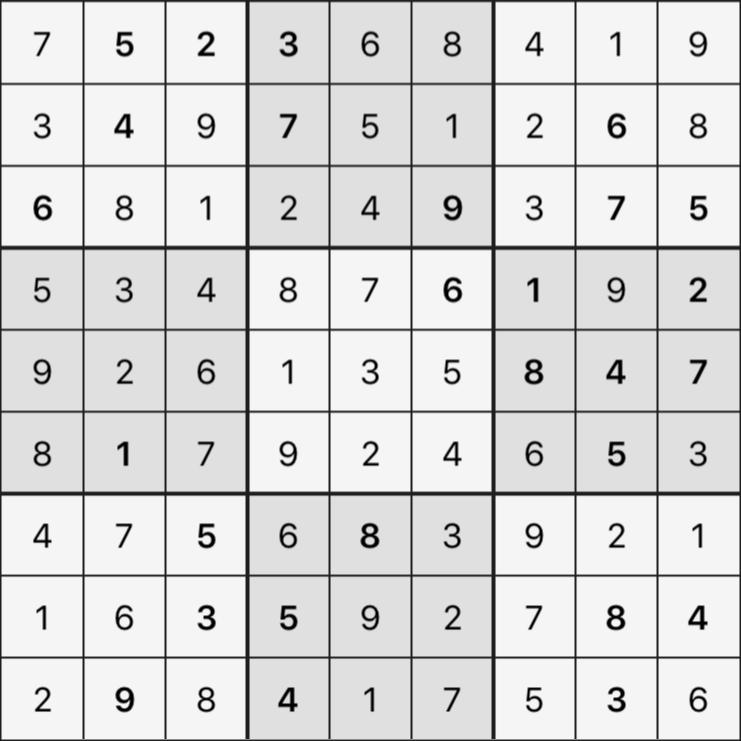 Sudoku's Round – Round 1 – Puzzle 2