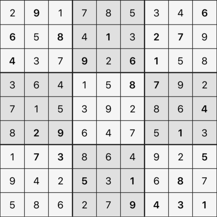 Sudoku's Round – Round 1 – Puzzle 3