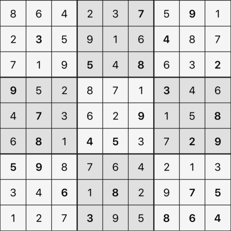 Sudoku's Round – Round 1 – Puzzle 5