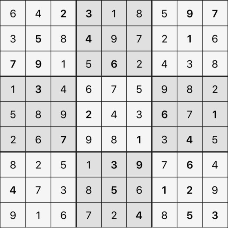 Sudoku's Round – Round 1 – Puzzle 6
