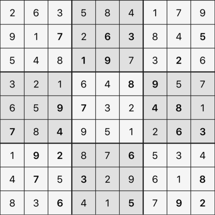 Sudoku's Round – Round 2 – Puzzle 2