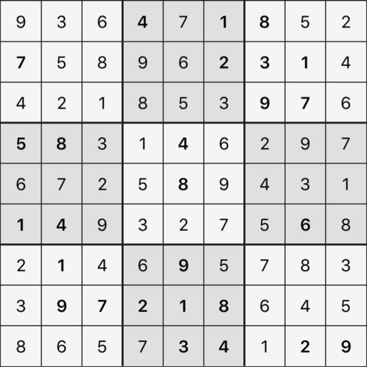 Sudoku's Round – Round 2 – Puzzle 3