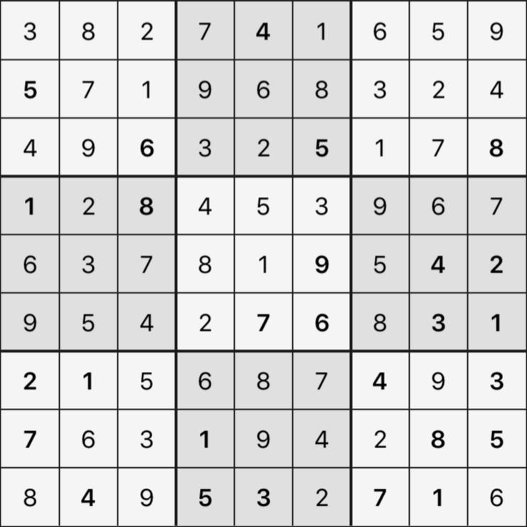 Sudoku's Round – Round 2 – Puzzle 4