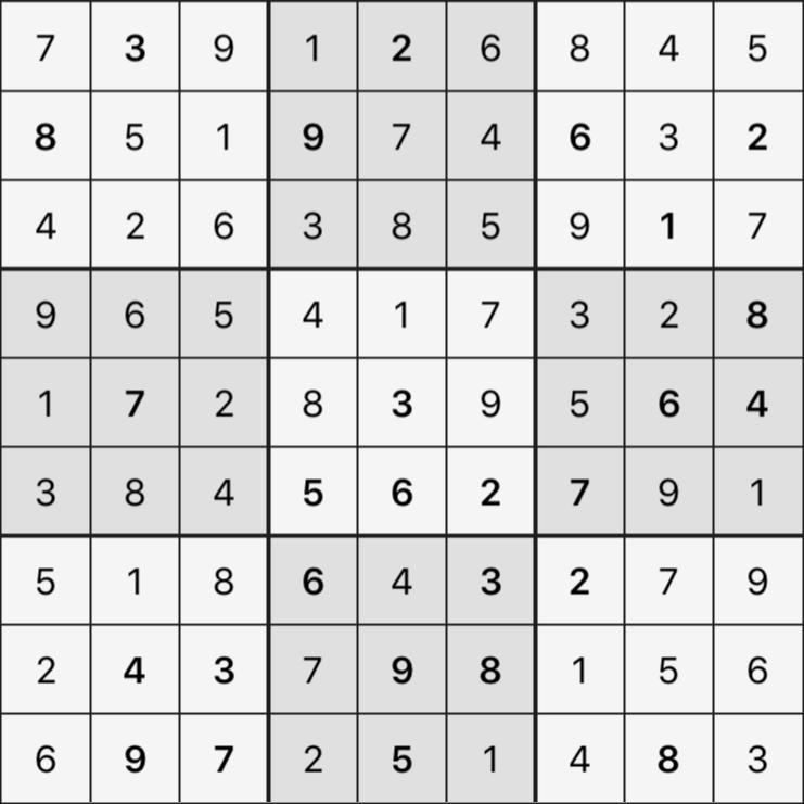 Sudoku's Round – Round 2 – Puzzle 6