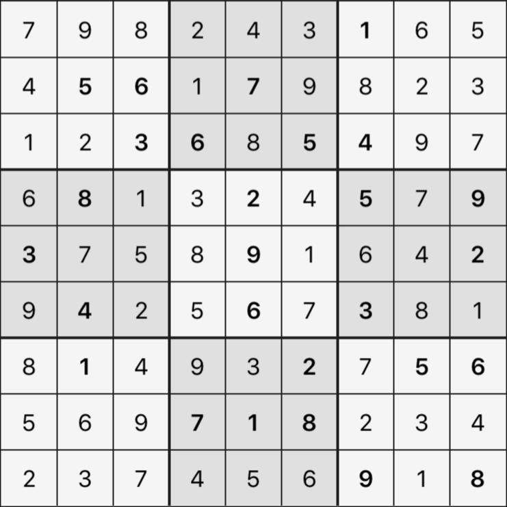 Sudoku's Round – Round 2 – Puzzle 7