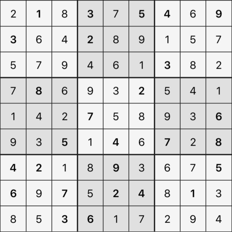 Sudoku's Round – Round 2 – Puzzle 8