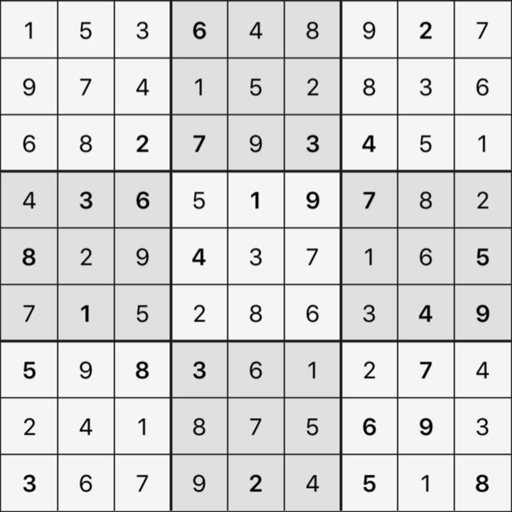 Sudoku's Round – Round 3 – Puzzle 1