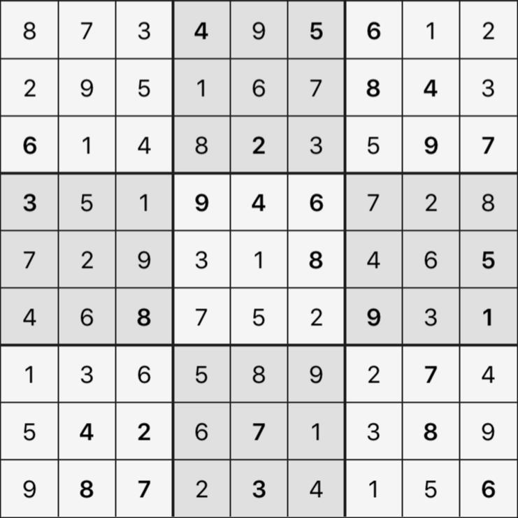 Sudoku's Round – Round 3 – Puzzle 2