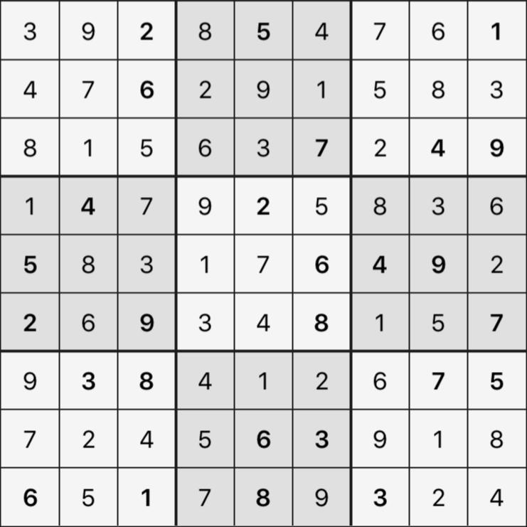 Sudoku's Round – Round 3 – Puzzle 3