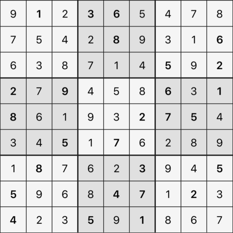 Sudoku's Round – Round 3 – Puzzle 4
