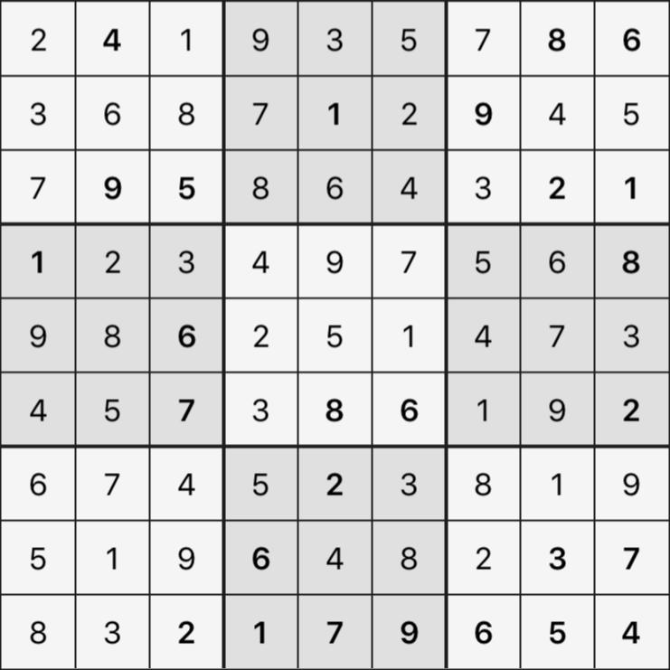 Sudoku's Round – Round 3 – Puzzle 5