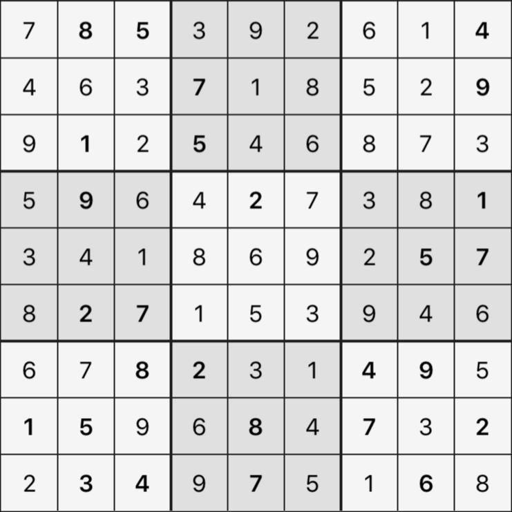 Sudoku's Round – Round 3 – Puzzle 6