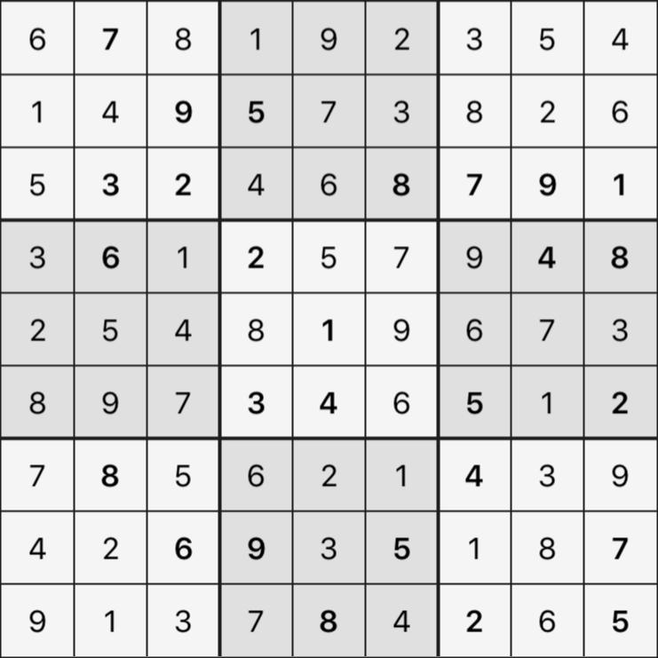 Sudoku's Round – Round 3 – Puzzle 7