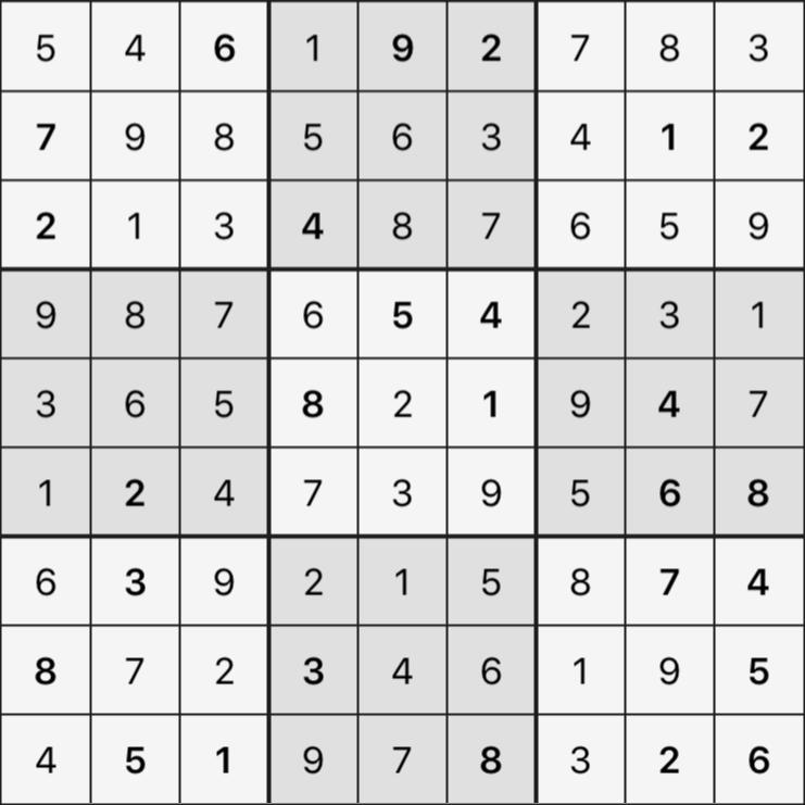 Sudoku's Round – Round 3 – Puzzle 8