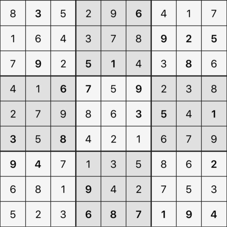 Sudoku's Round – Round 4 – Puzzle 2