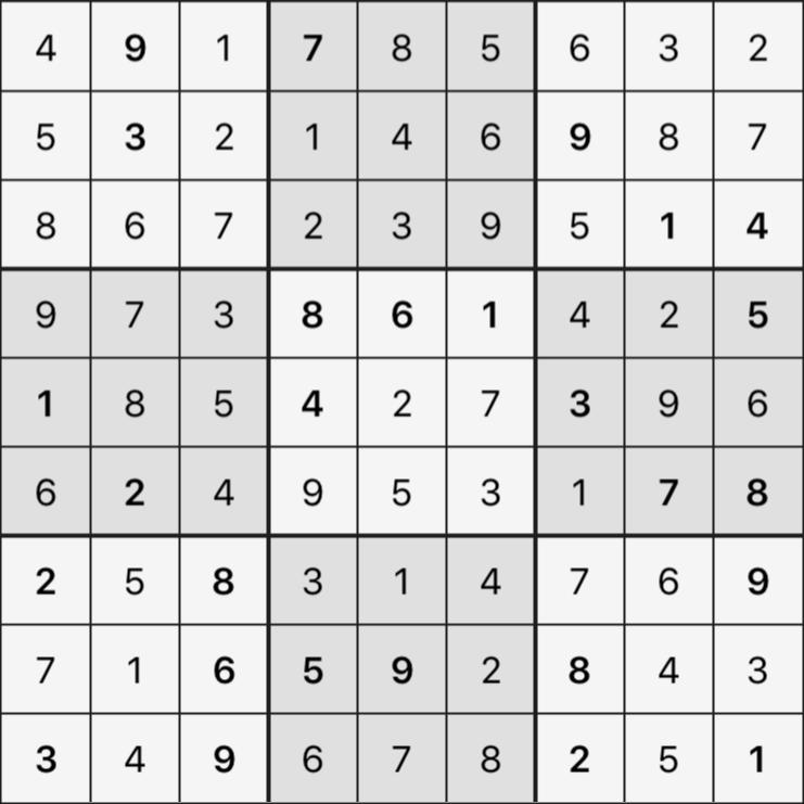 Sudoku's Round – Round 4 – Puzzle 3