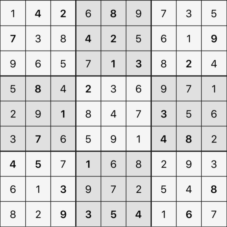 Sudoku's Round – Round 4 – Puzzle 4
