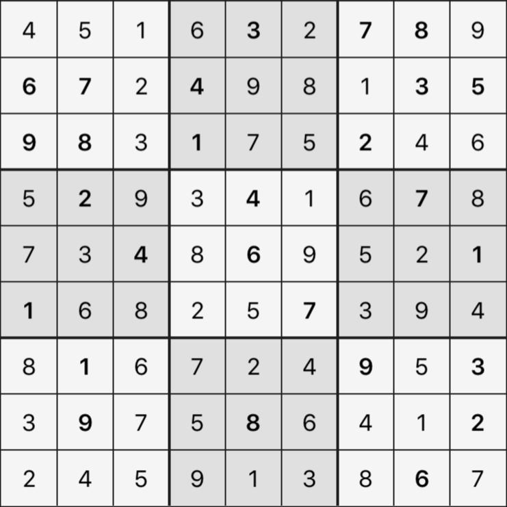 Sudoku's Round – Round 4 – Puzzle 5