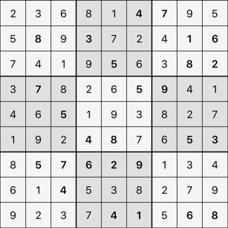 Sudoku's Round – Round 4 – Puzzle 6