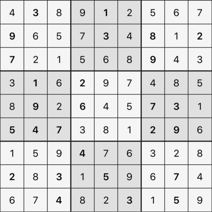 Sudoku's Round – Round 4 – Puzzle 7