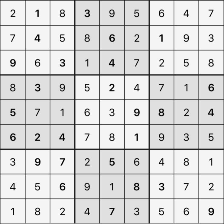 Sudoku's Round – Round 4 – Puzzle 8